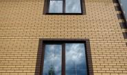 Пластиковые окна в загородном кирпичном доме - 356214324