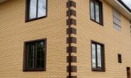Пластиковые окна в загородном кирпичном доме - 380891568