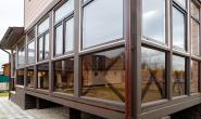 Шоколадно-коричневые пластиковые окна Павловский Посад,  деревня Грибово - 894722353