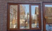 Летняя кухня с большими окнами - 1456520777