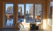 Летняя кухня с большими окнами - 1997264708