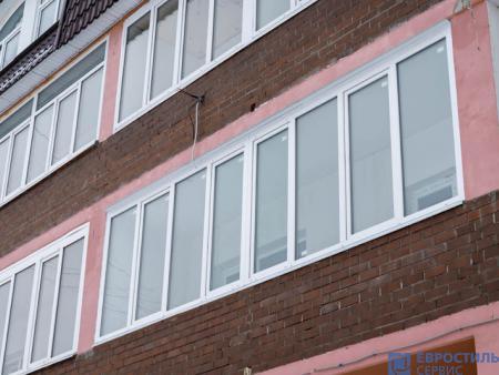 Теплое остекление балкона: Павловский Посад ул. Тихонова 52 - 424249665
